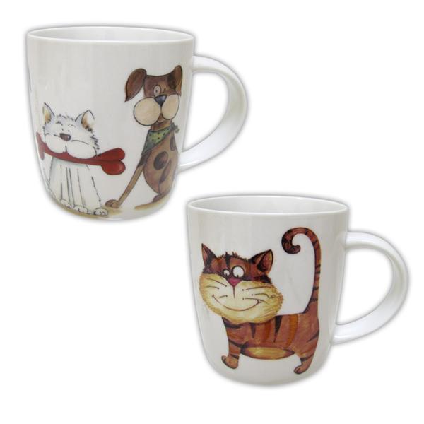 Hrnek Funny Cat, objem 355 ml