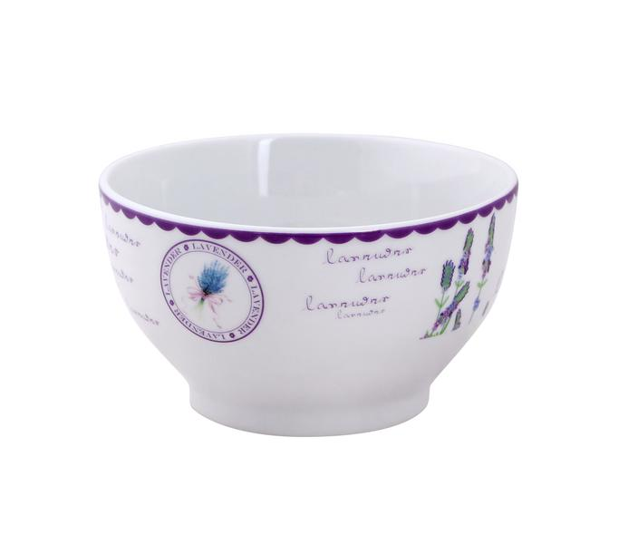 Miska 580 ml, keramika, levandule