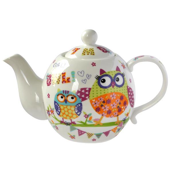 """Konvice """"Sovy"""", keramika, 800 ml"""