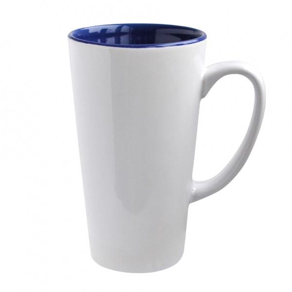 Hrnek keramika 470 ml, vysoký, bílý