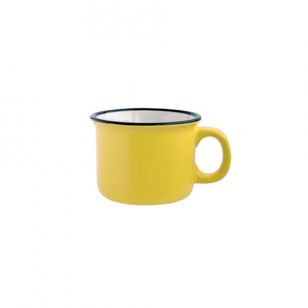 """Hrnek keramika, """"design plecháč"""", 210 ml"""