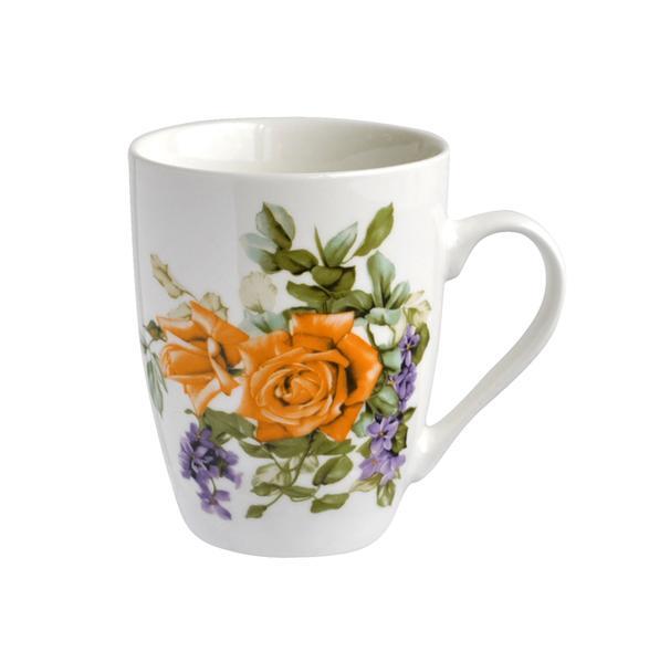 Hrnek motiv květiny - objem 320 ml, assort