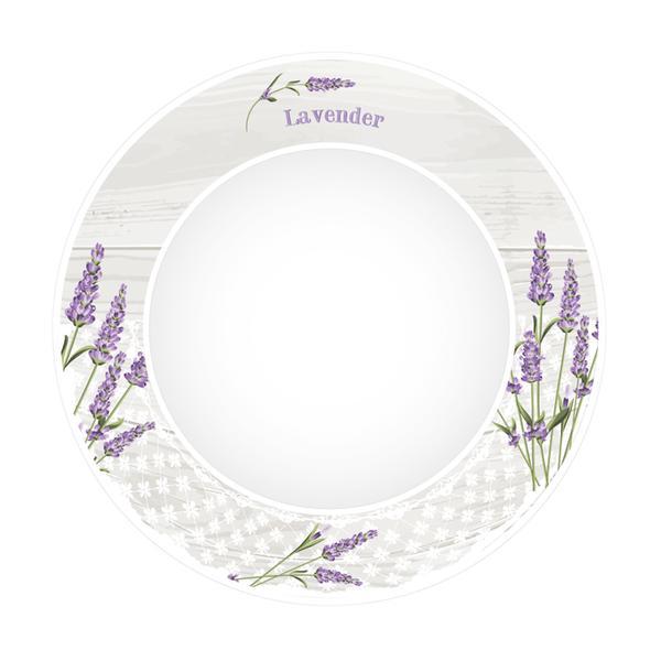 Talíř jídelní levandule 2, porcelán