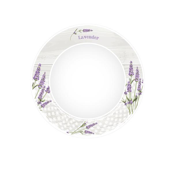 Talíř dezertní levandule 2, porcelán