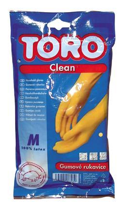 Gumové rukavice,  velikost M