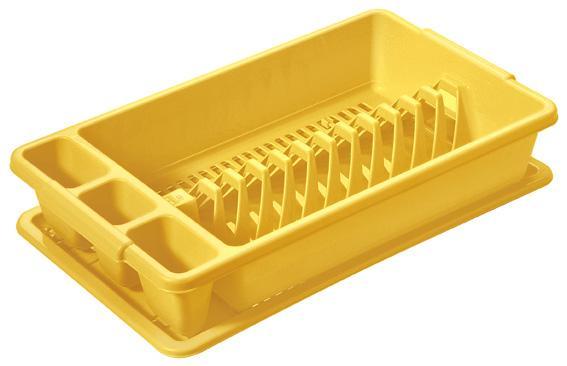 Odkapávač s podnosem,  malý,  26, 5 x 45 x 8, 9 cm