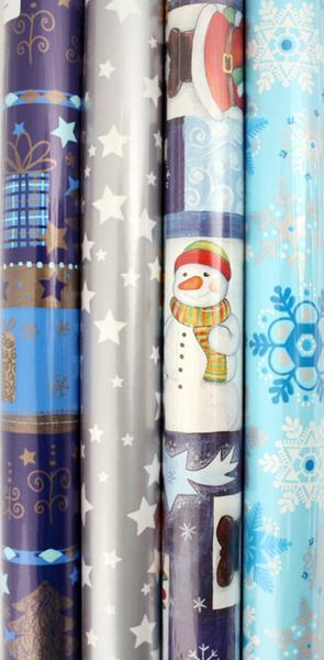 Vánoční balící papír - EIS, 150 x 70 cm