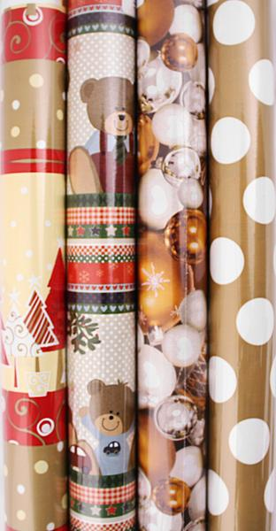 Vánoční balící papír - MODE, 150 x 70 cm
