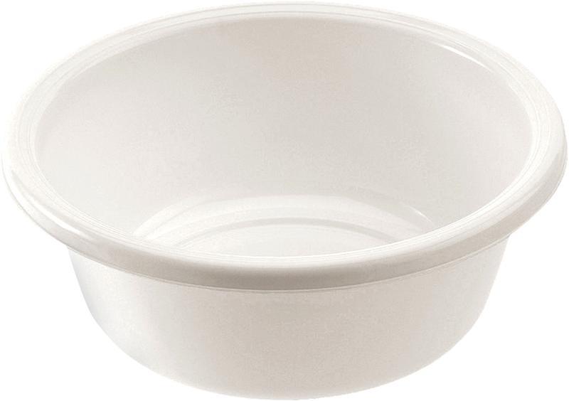 Kulaté umyvadlo Tontarelli 10 l, průměr 36 cm, bílé