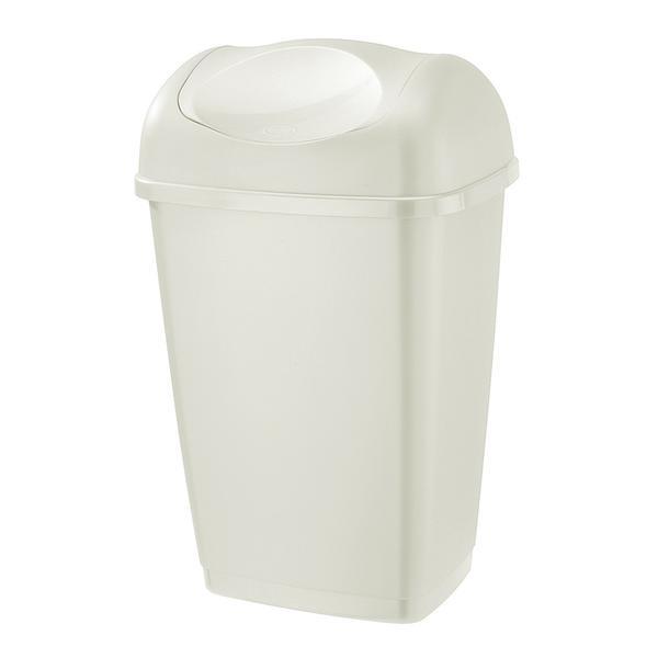 Koš odpadkový Grace, 25 l, bílý