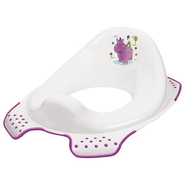 Sedátko na WC pro děti, Hippo - bílá
