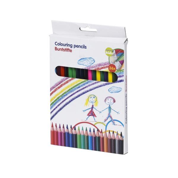 Pastelky, 36 barev