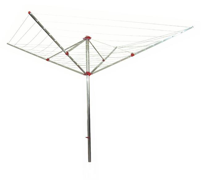 Sušák zahradní Toro  kolotoč- 4 ramena, 50 m