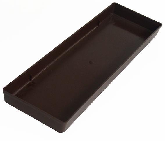 Plastová miska pod truhlík 60 cm