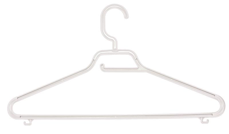 Ramínko Maxi Eco Set 3 ks, pevný háček, bílá