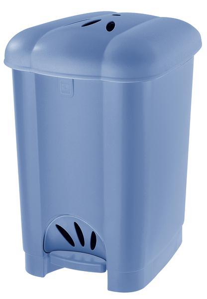 Koš na odpadky Carolina, 30 l, světle modrý