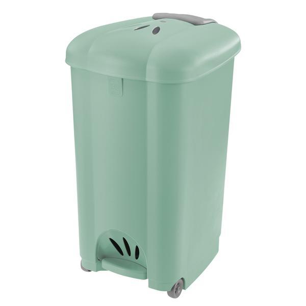 Koš odpadkový Carolina, 50 l, světle zelený