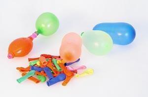 Balónky 45 ks - vodní bomby s pumpou