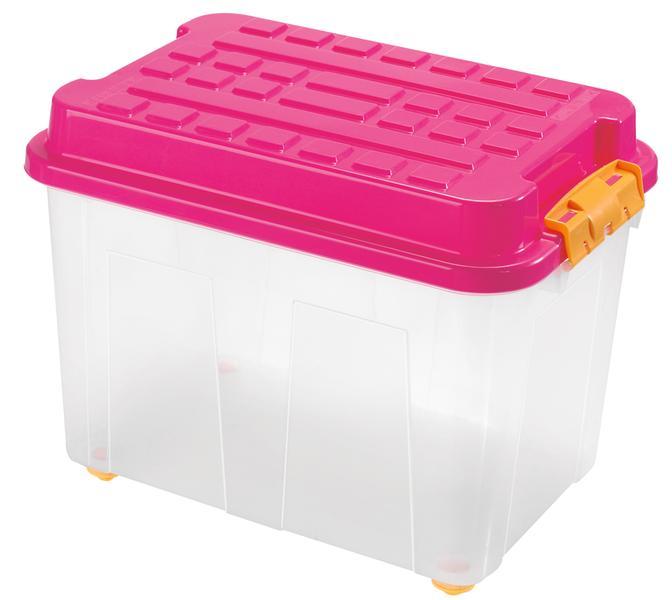 BOX ÚLOŽNÝ KUBRIK 75L, PLAST, 60X40X46CM