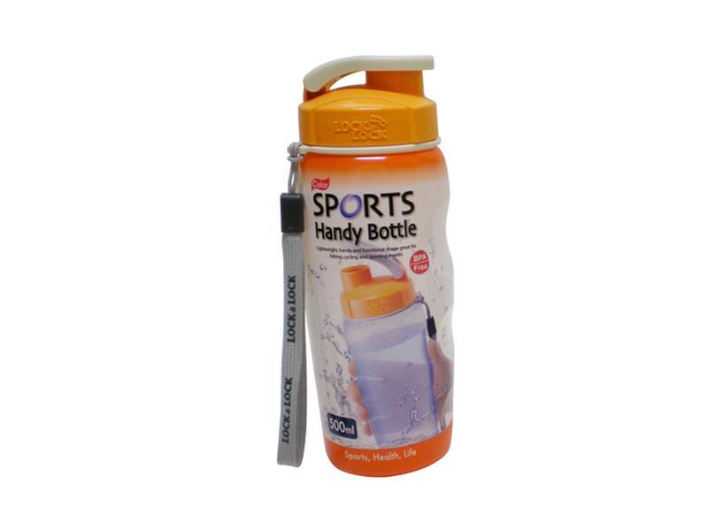 Plastová láhev na pití 500 ml - oranžová