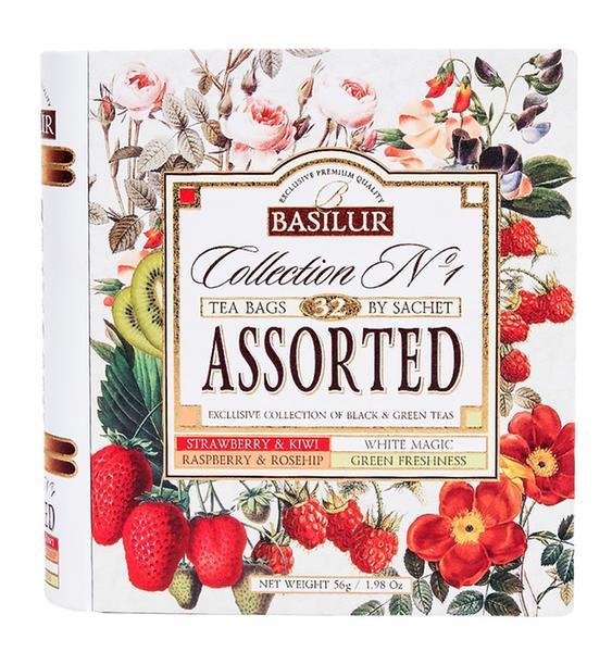 Čaj aromatizovaný 32 sáčků/56 g - dárková kniha