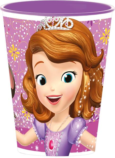 """Kelímek plastový """"Princezna Sofie"""", 260 ml"""