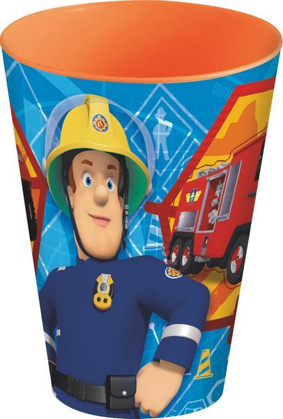 Kelímek plastový, požárník Sam, 430 ml