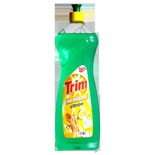 Trim na nádobí, 1 l, zelený citrón