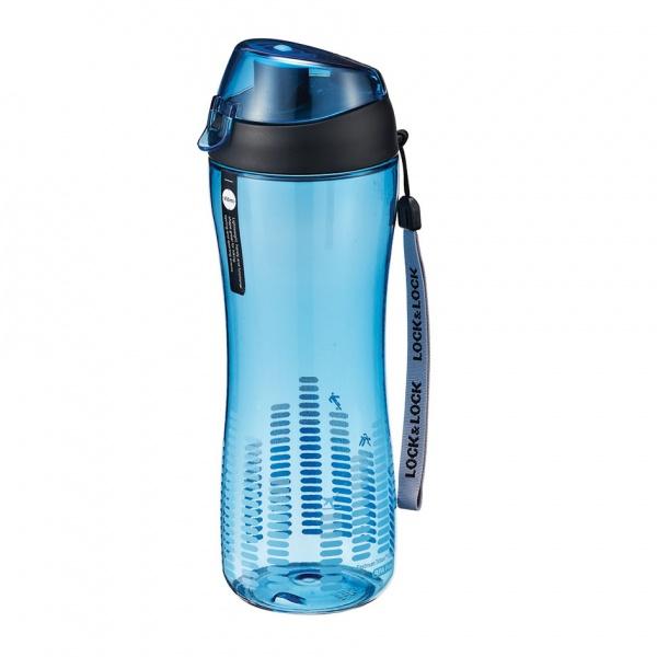 Sportovní láhev na pití lock 550 ml - modrá